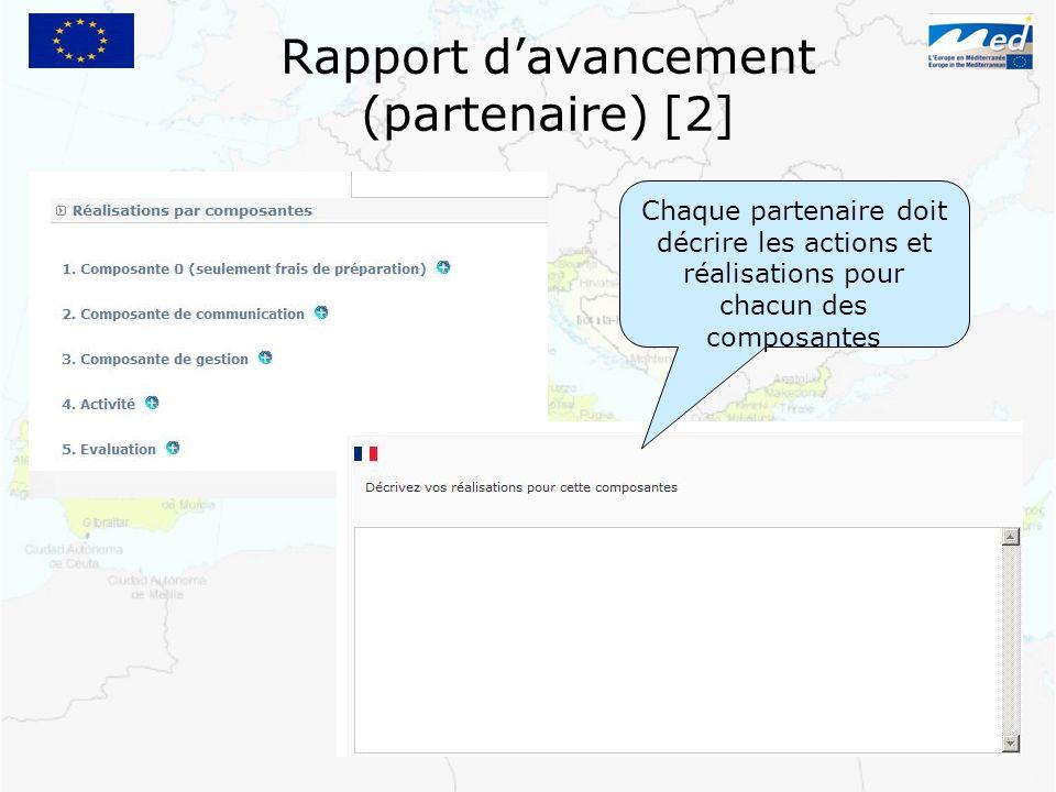 Rapport d'avancement (partenaire) [2]